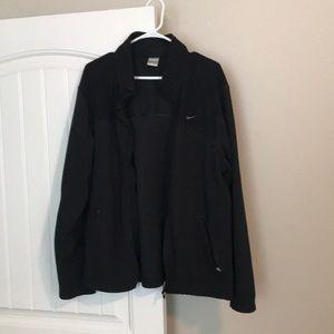 Nike fleece zip up jacket